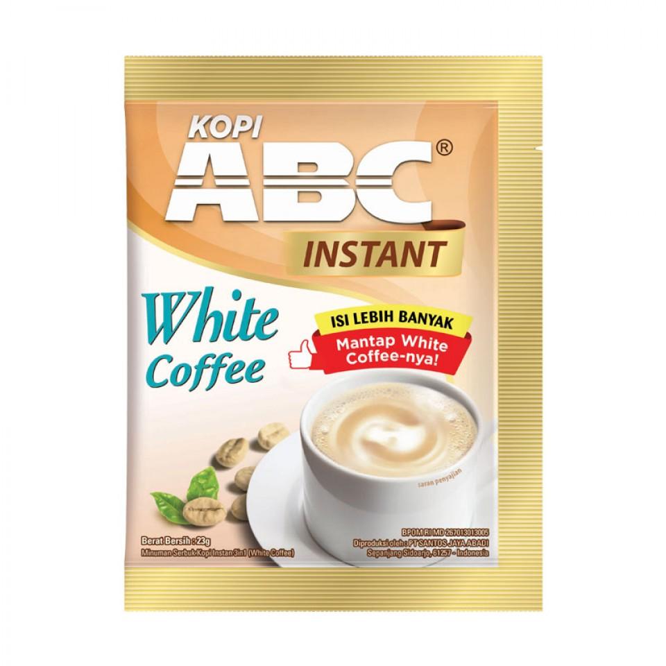 ABC WHITE INSTANT COFFEE RENTENG